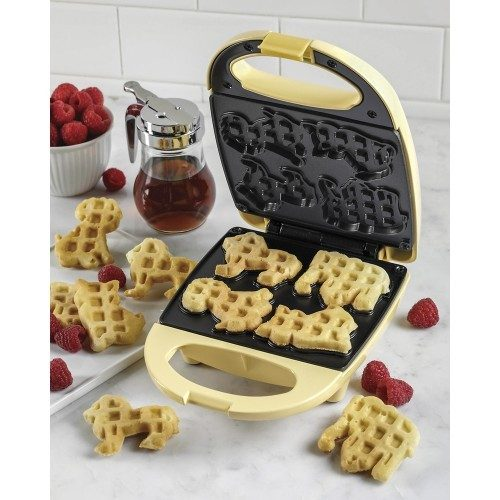 Nostalgia Electrics Circus Animal Waffle Maker Just $9.99 Down From $14.99 At Best Buy!