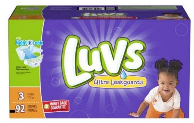 Luvs Diapers $5 Ibotta Rebate!