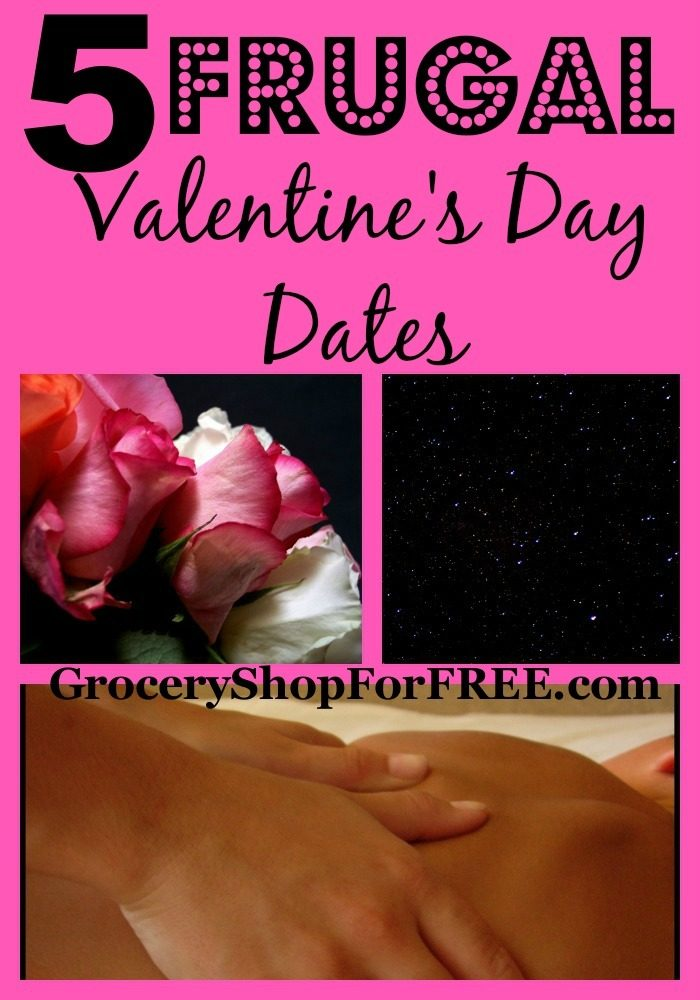 5 Frugal Valentine's Day Dates!