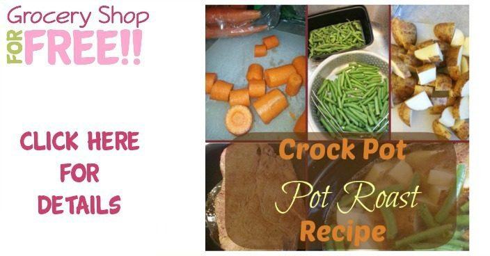 Crock Pot Pot Roast Recipe!  PLUS Sugar Free Banana Ice Cream Recipe!