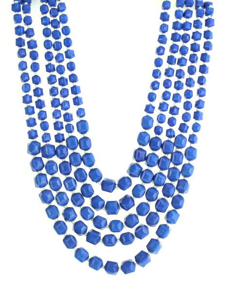 5 Strand Bead Necklace & Earrings Only $9.95 Ships FREE!