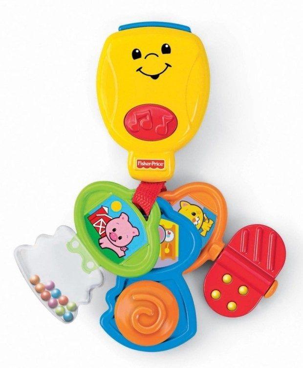 Fisher-Price Brilliant Basics Nursery Rhyme Keys Only $7.45!