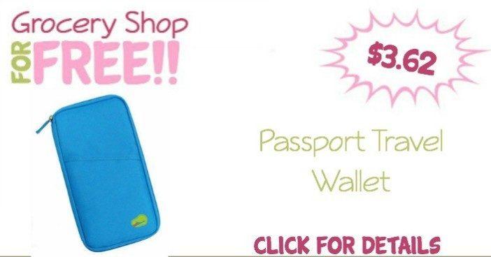 Passport Travel Wallet Just $3.62 + FREE Shipping!