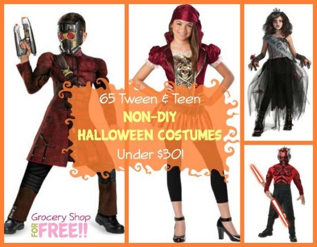 65 tween teen non diy halloween costumes under 30