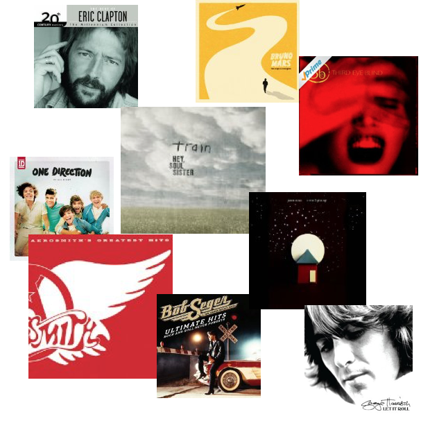 Bruno Mars, Eric Clapton, One Direction, Bob Seger & More 69¢ Songs!