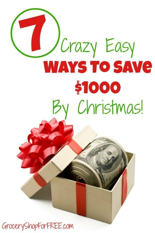 These crazy easy ways to save $1000 by Christmas will help make your gift shopping so much easier.  Everyone panics over how to provide their friends and family with great gifts while staying in budget.  These tips are a bit outside the box, but great ways to accumulate at least $1000 between now and Christmas to help pay for every gift you want to give.