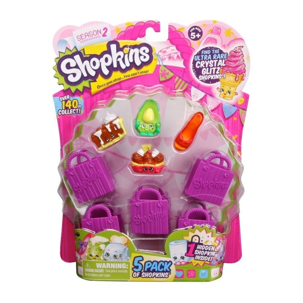 Shopkins Season 2 5 Pack Only $4.99 (Reg. $8.99)!