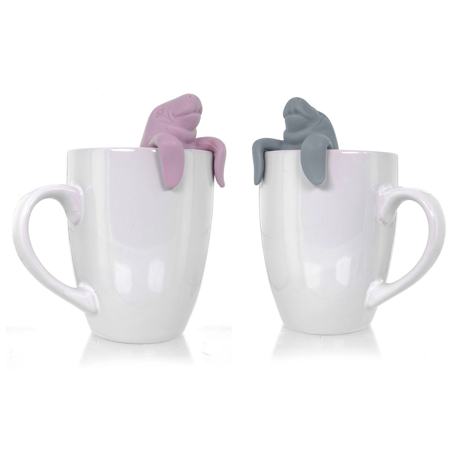 Wishstone Mr and Mrs Manatea Tea Infuser Gift Set Of 2 Only $11.95 (Reg. $24.99)!