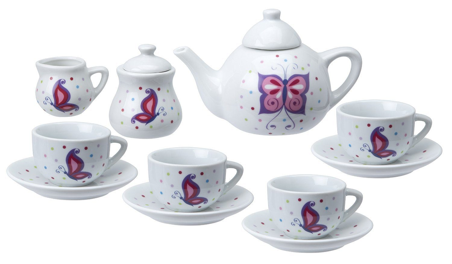 ALEX Toys Chasing Butterflies Ceramic Tea Set Only $12.82 (Reg. $24.99)!