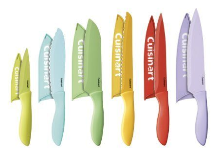 Cuisinart 12 Piece Ceramic Knife Set With Blade Guards Just $29.49!  Down From $65.00!