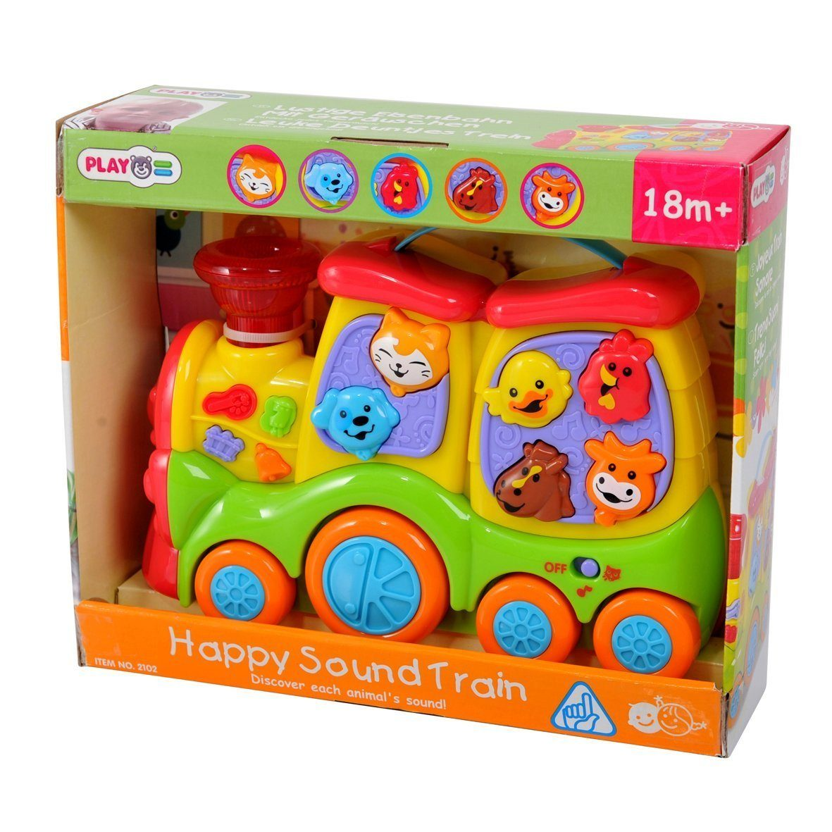 PlayGo Happy Sound Train Only $10.73 (Reg $32.99)!