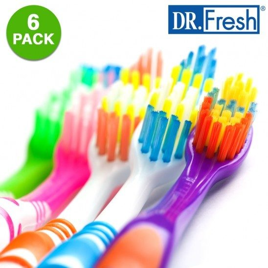 6 Pack: Dr. Fresh Close Up Right Angle Toothbrushes Just $4.99! Down from $24.99! Ships FREE!