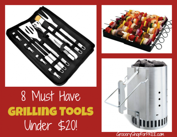 8 Must Have Grilling Tools Under $20!