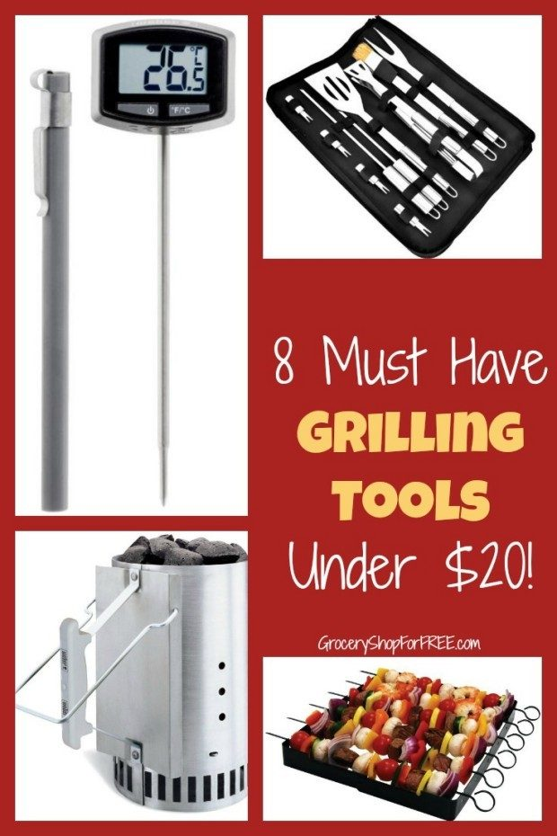 8 Must Have Grilling Tools Under $20 Pin