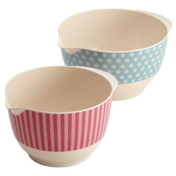 Cake Boss 2 Piece Melamine Mixing Bowl Set Just $12.71!  Down From $40.00!