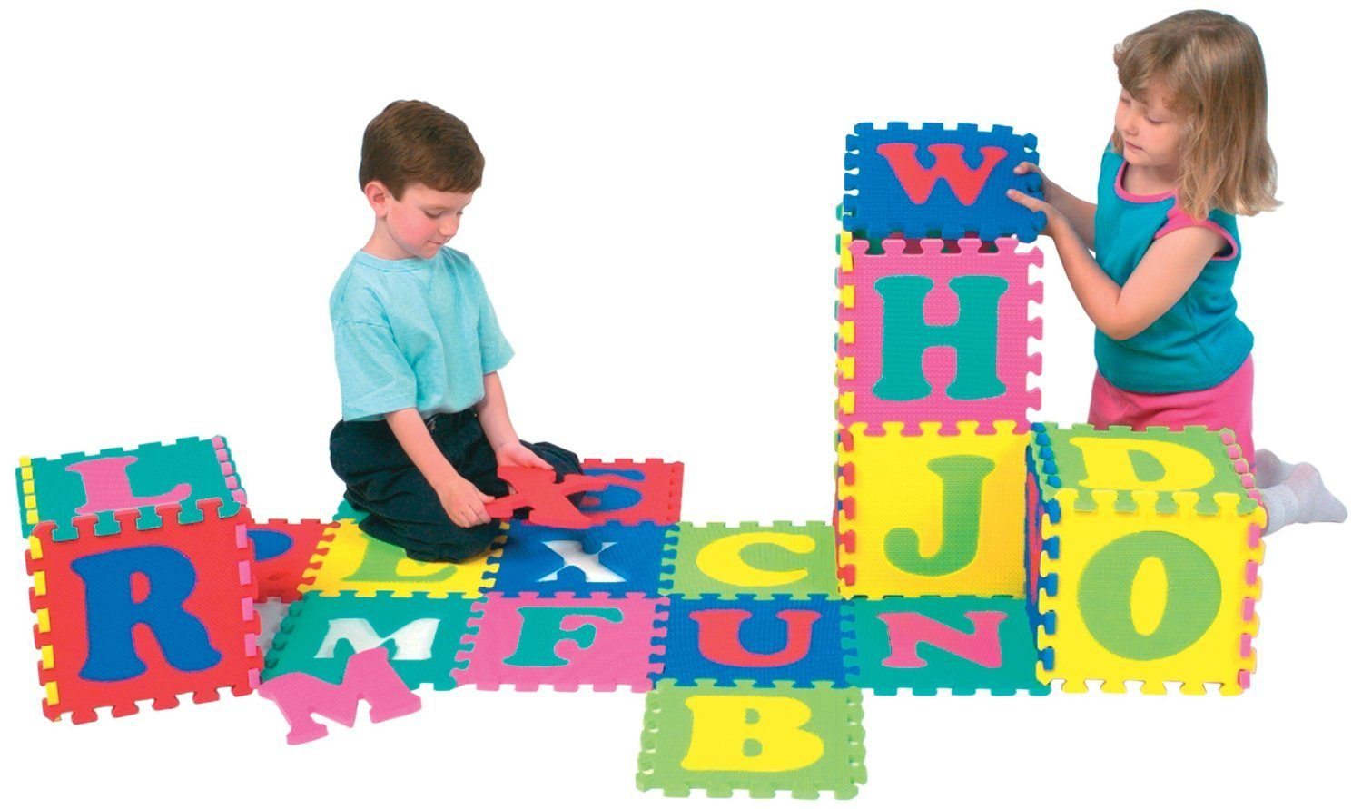 Wonderfoam® Alphabet Puzzle Mat Only $14.71 (Reg. $39.99)!
