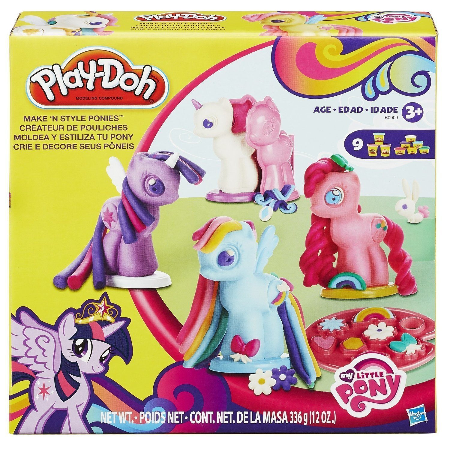 Play-Doh My Little Pony Make 'n Style Ponies Only $7.99!