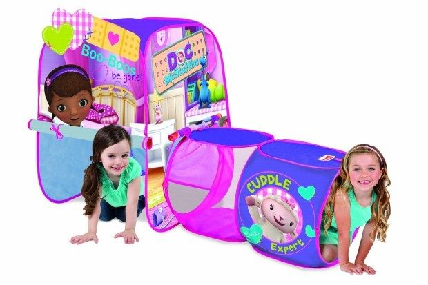 Playhut Doc McStuffins Discovery Hut Tent Only $10.55 (Reg. $34.99)!