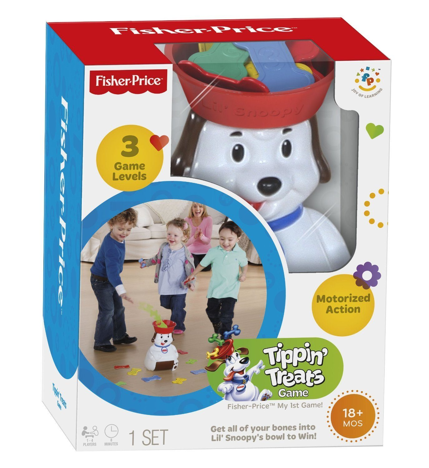Fisher-Price Lil' Snoopy Tippin' Treats Game Only $12 (Reg. $30.99)!