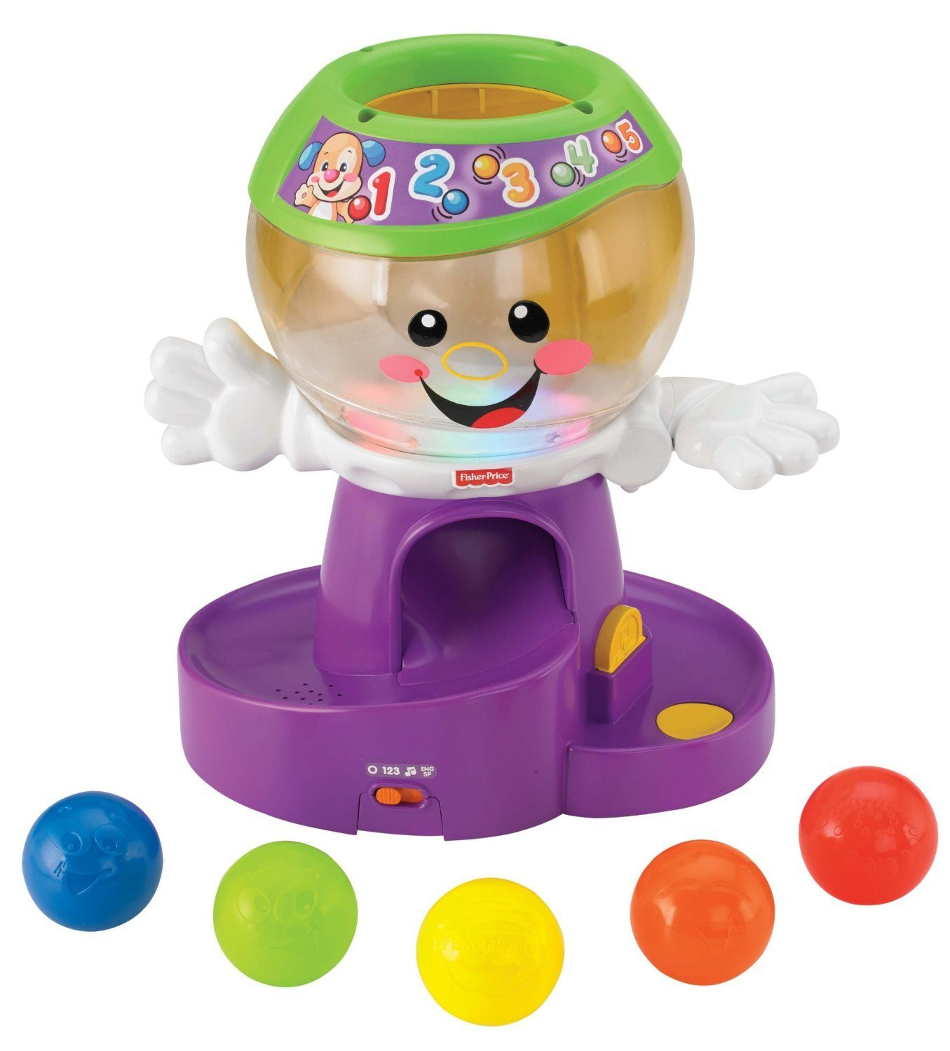 Fisher-Price Laugh & Learn Count and Color Gumball Only $11.99 (Reg. $24.99)!