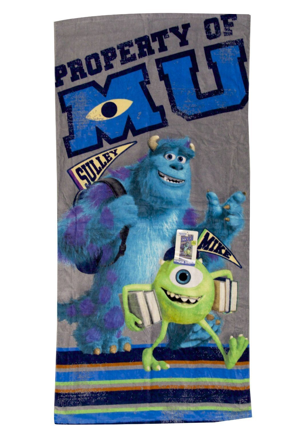 "Disney Monsters University Back to School Beach Towel - 28"" X 58"" Only $7.21 (Reg. $16)!"