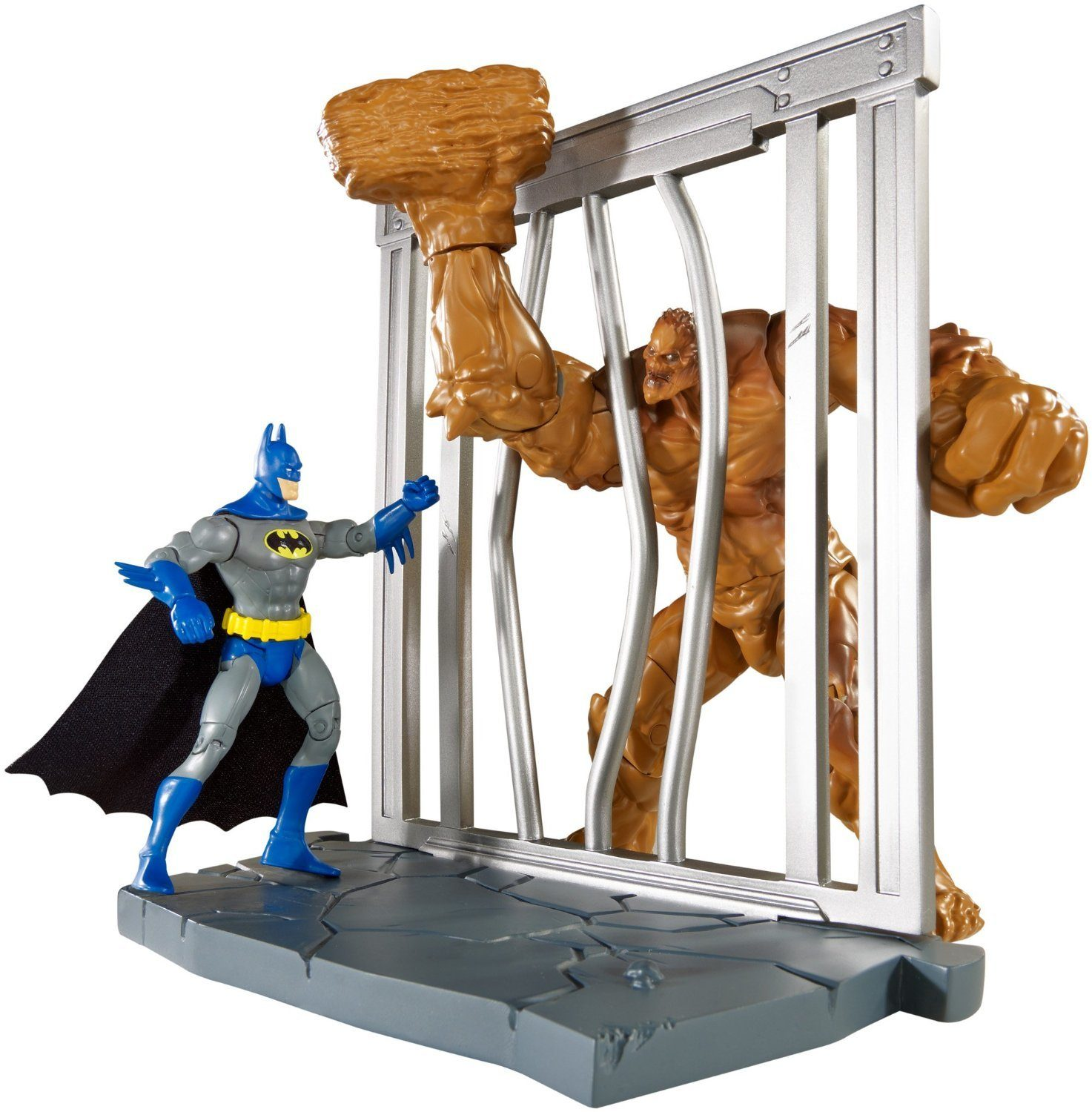 DC Comics Multiverse 4-Inch Classic Comic Skin Batman and Clayface Figure 2-Pack Only $8.59 (Reg. $24.99)!