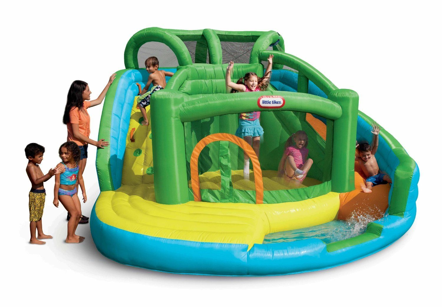 Little Tikes 2-in-1 Wet 'n Dry Inflatable Bouncer Only $199 With FREE Shipping (Reg. $599.99!!)!