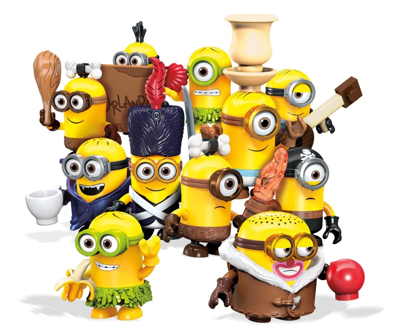 Mega Bloks Minions Blind Pack Series III Buildable Figure (Styles May Vary) Only $2.99!