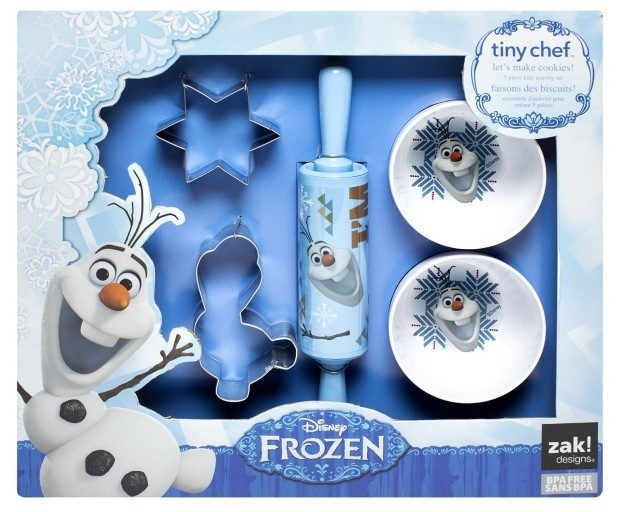 Zak! Designs 5-Piece Tiny Chef Cookie Baking Set with Olaf from Frozen Only $9.02 (Reg. $29.99)!