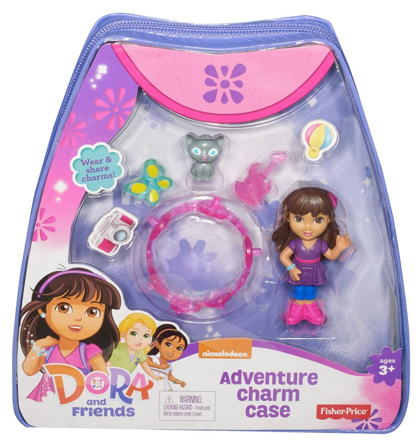 Fisher-Price Nickelodeon Dora and Friends Adventure Charm Case Only $4.54 (Reg. $12.99)!