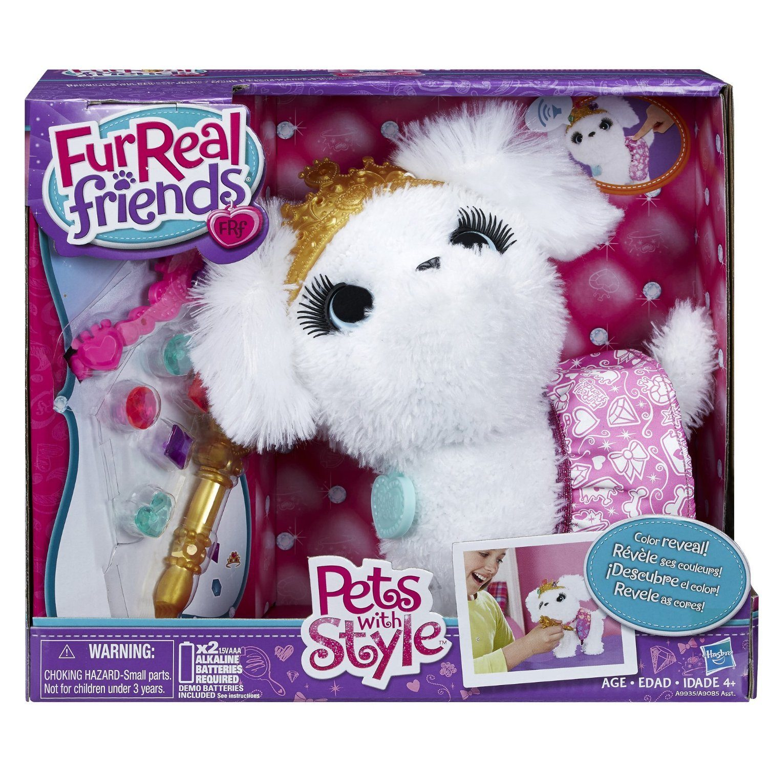 FurReal Friends Pets with Style Design 'n Style Princess Pup Pet Only $7.99 (Reg. $21.99)!