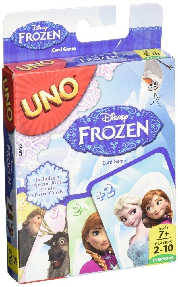 Disney Frozen UNO Card Game Only $4.20 (Reg. $7.99)!