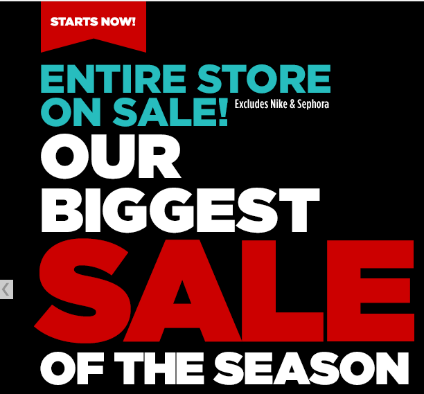 JCPenney Biggest Sale Of The Season