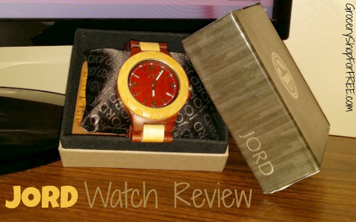 JORD Wood Watch Review!