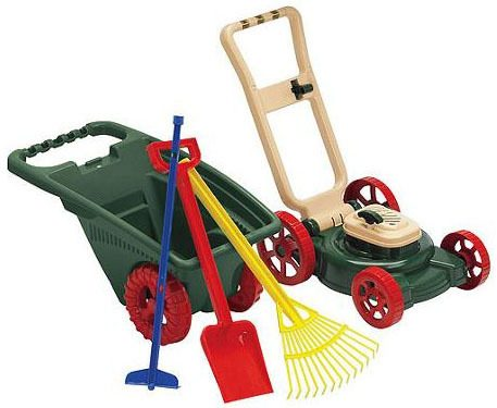 American Plastic Toy pieces Gardener Set Just $13!