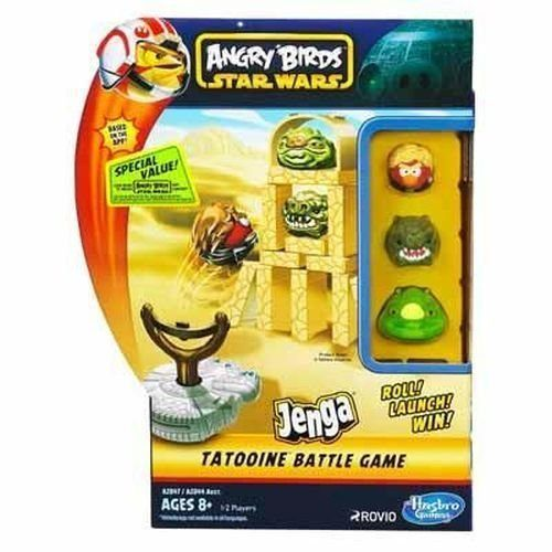 Angry Birds Star Wars Fighter Pods Jenga Tatooine Battle Game $5.75 + FREE Prime Shipping! (reg. $19.99)