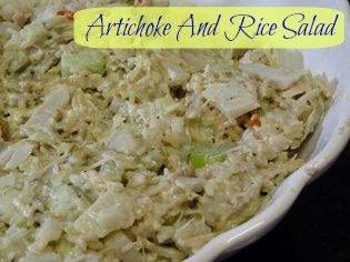 Artichoke And Rice Salad!