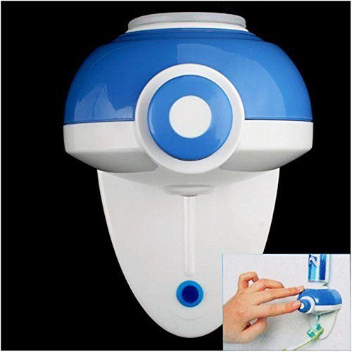Automatic Toothpaste Auto Squeeze Dispenser Only $4.31 + FREE Shipping!