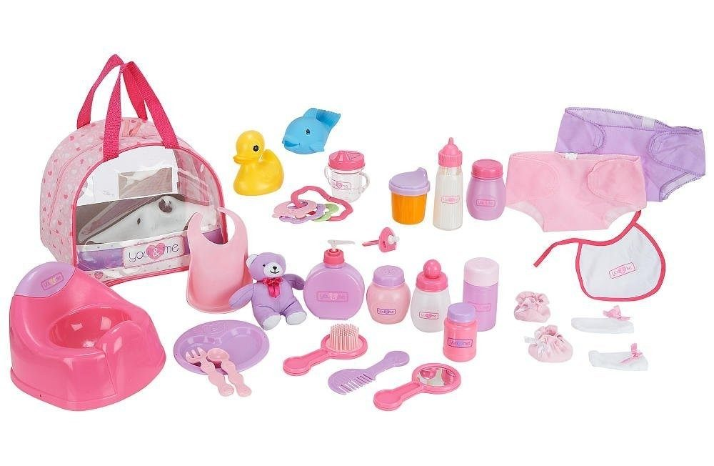 Baby Doll Care Set - Accessories in Bag