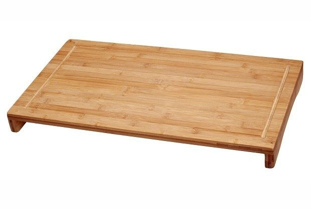 Bamboo Large Over the Sink/Stove Cutting Board $18.69 + FREE Shipping with Prime!