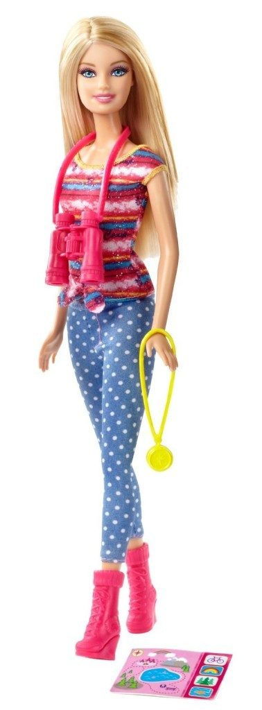 Barbie Life in the Dreamhouse: The Amaze Chase Camping Barbie Doll Just $6.15!
