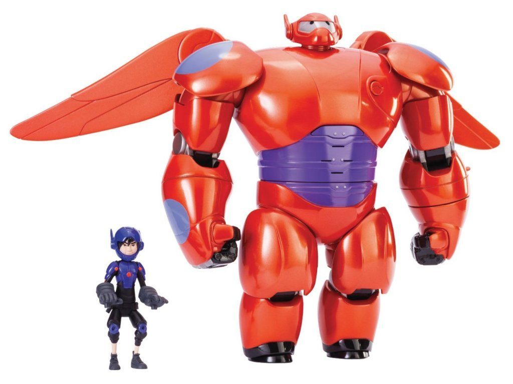 Big Hero 6 11 inch Deluxe Flying Baymax with 4.5 inch Hiro Action Figures