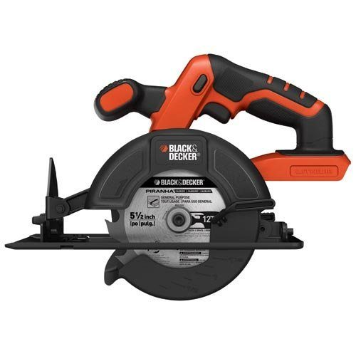 Black & Decker 20-Volt MAX Lithium-Ion Circular Saw Bare Tool Just $24.97! (reg. $79.99)