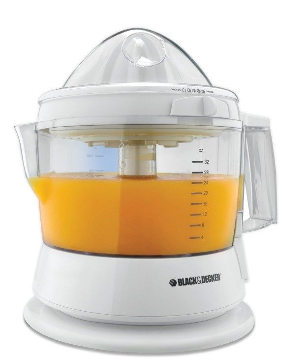 Black & Decker 32-Ounce Electric Citrus Juicer Just $13.59!