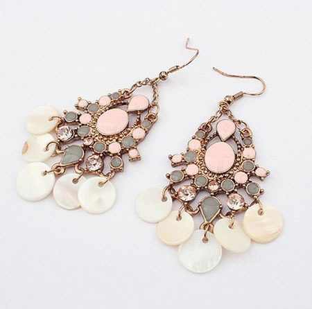 Bohemian Chandelier Earrings Only $4.42 + FREE Shipping!