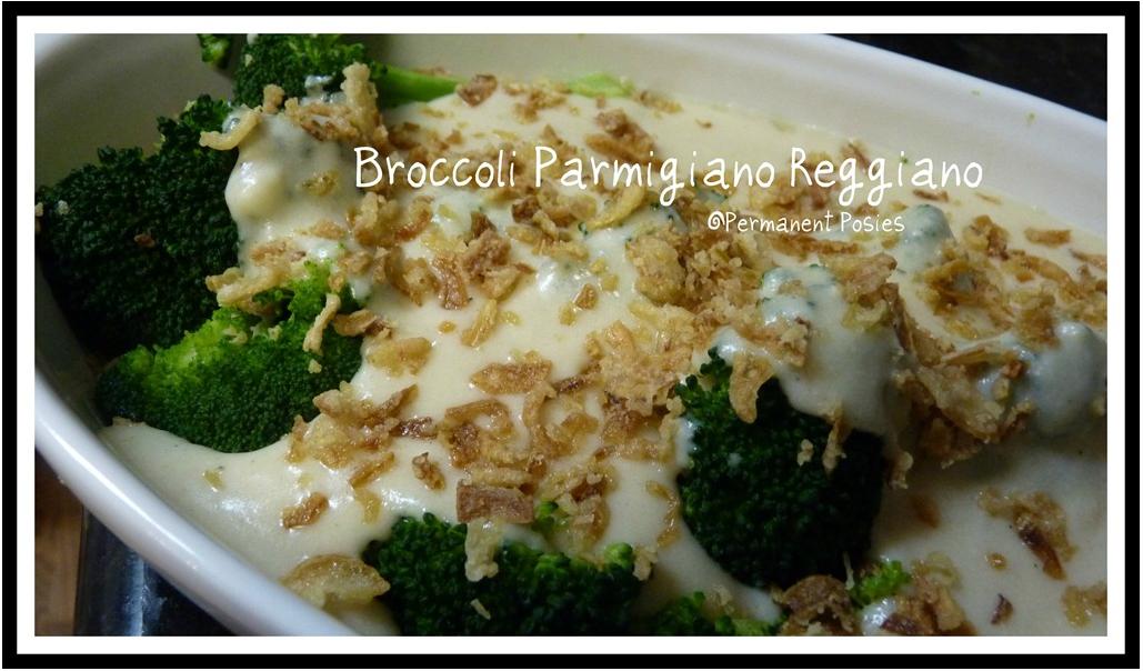 Broccoli Parmigiano Reggiano!