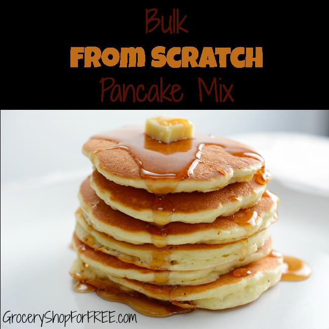 Bulk Pancake Mix From Scratch