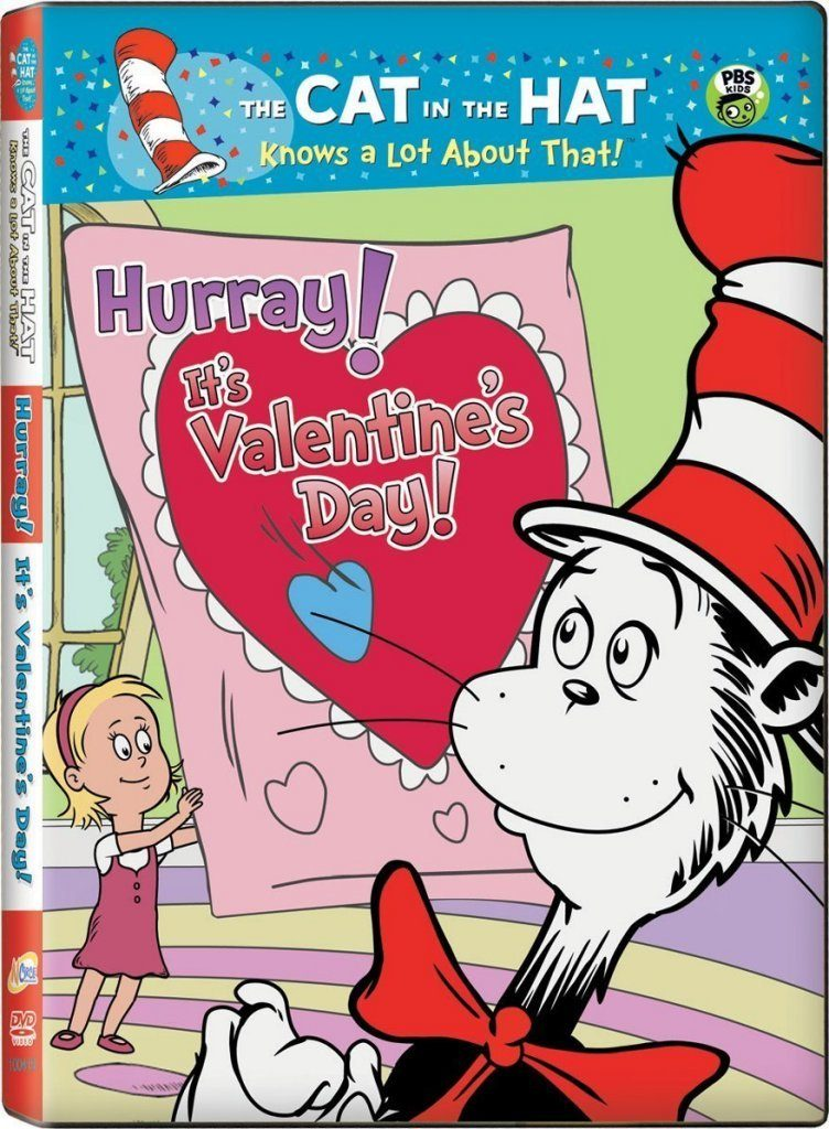 Cat in the Hat Valentine's Day DVD Just $3.99!