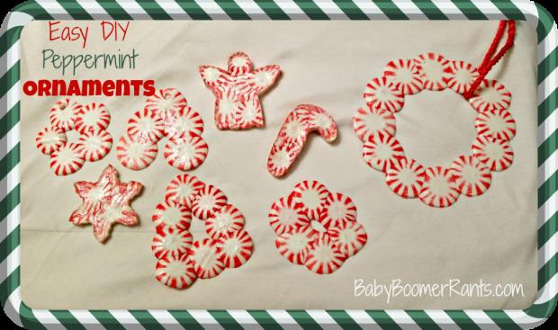 Easy DIY Peppermint Ornaments!