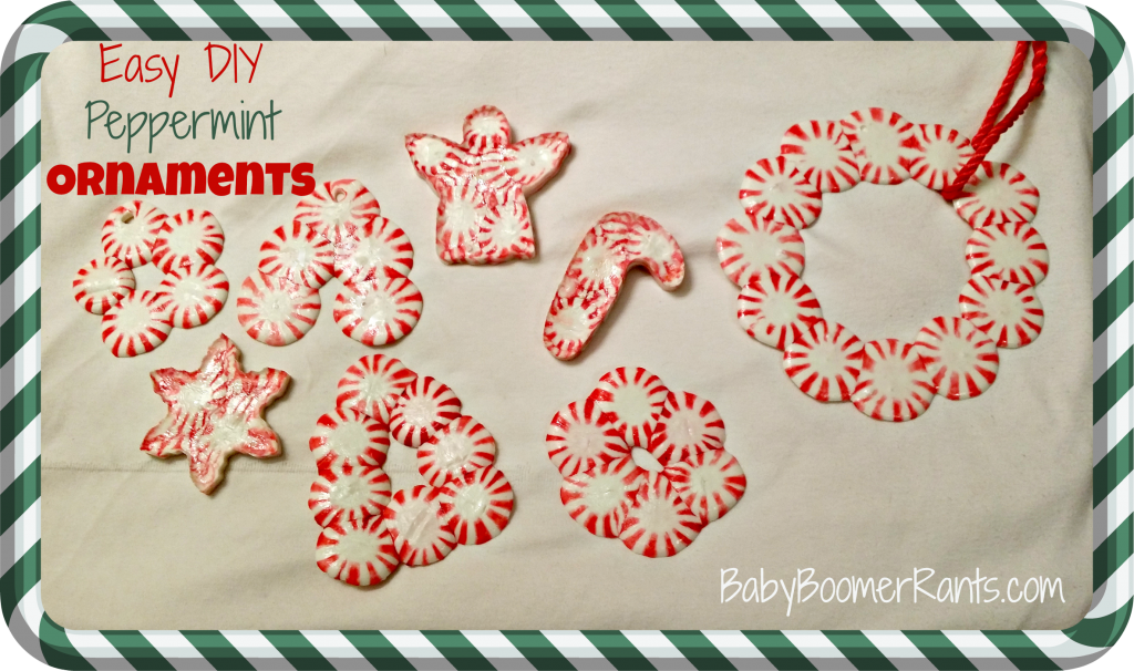 Easy DIY Peppermint Ornaments!